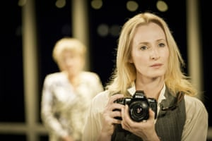 Genevieve O'Reilly in Splendour by Abi Morgan at the Donmar Warehouse.