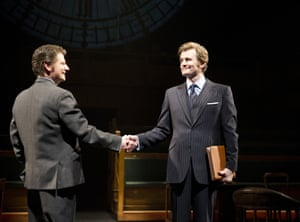From left, Reece Dinsdale and Charles Edwards in This House at the National's Olivier theatre.