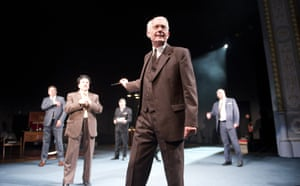 William Hoyland in Democracy at the Old Vic in 2012.