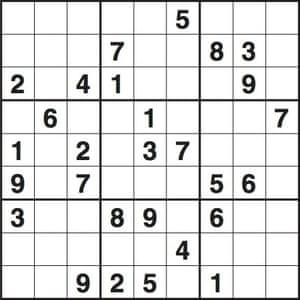 sudoku puzzle 3275