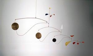 Triple Gong, 1948, by Alexander Calder