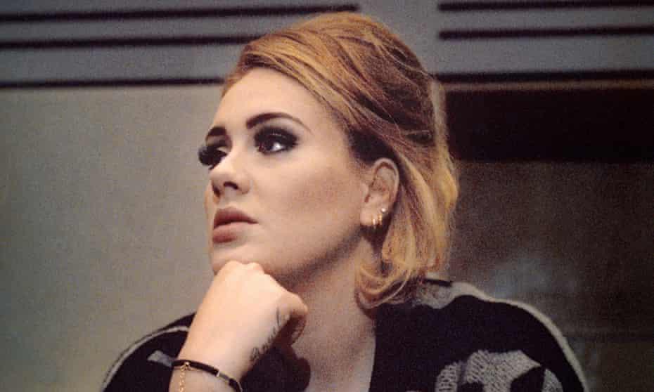 Adele at British Grove Studios, London, July 2015