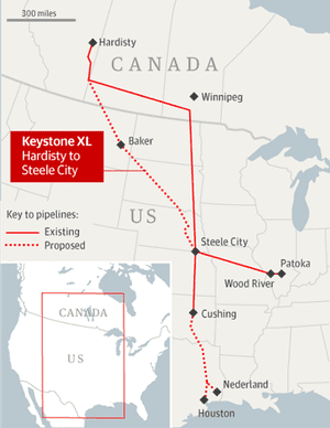 Obama Rejects Keystone XL Pipeline And Hails US As Leader On - The guardian us political map