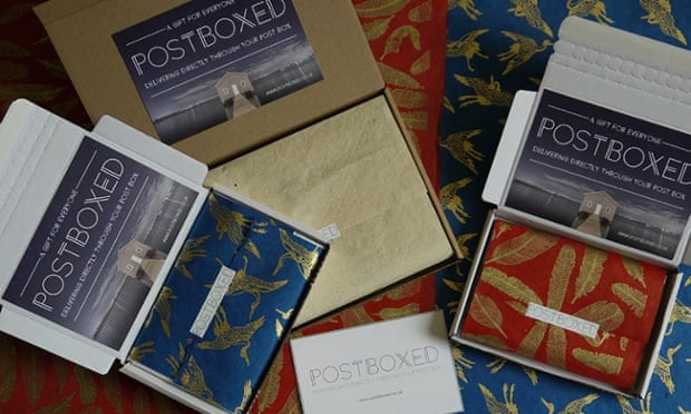 Home business 2015-16 competition entry: PostBoxed | Guardian Small