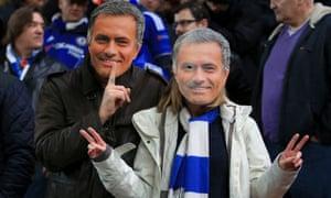 Mourinho masks