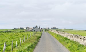 Idyllic destination... Papa Westray, a small island in the Orkney archipelago.
