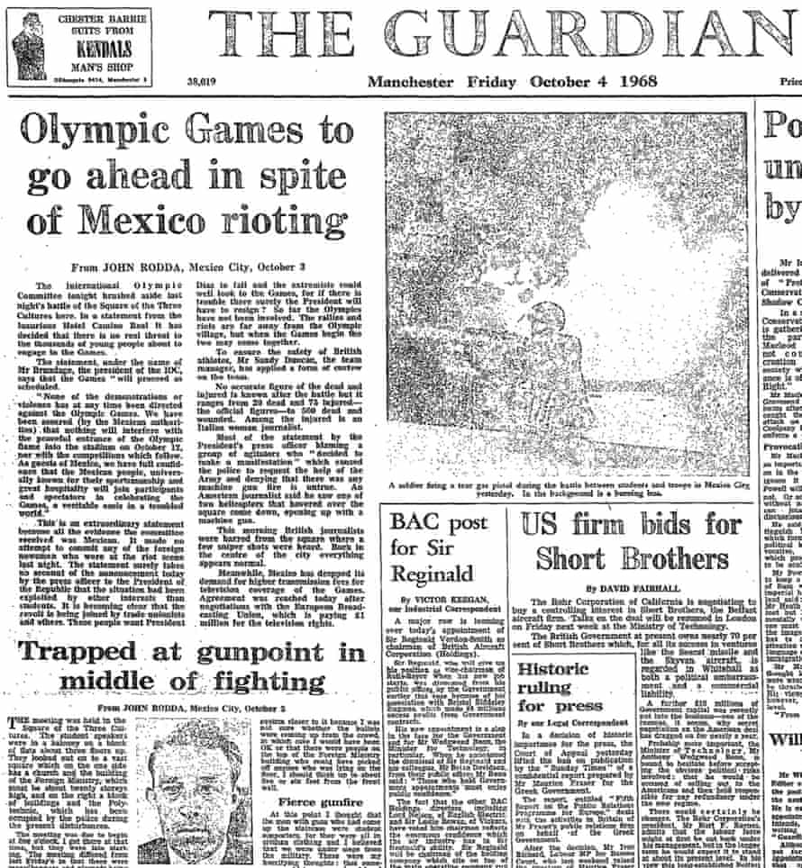 The Guardian, 4 October 1968