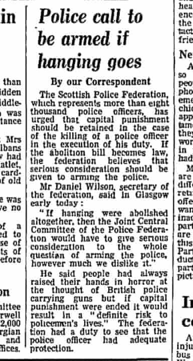 The Guardian, 14 January 1965.