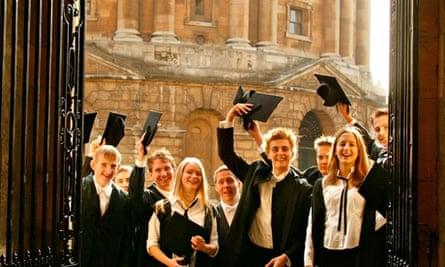 Oxford students celebrate matriculation