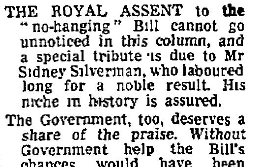 The Guardian, 11 November 1965.