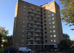 Council housing in north Kensington