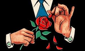 Ben Jennings illustration for Blair's legacy