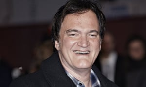 Booking now ... Quentin Tarantino at The Hateful Eight premiere