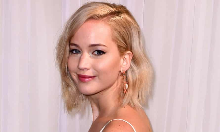 Not hungry … Jennifer Lawrence attends the premiere of Joy in New York.