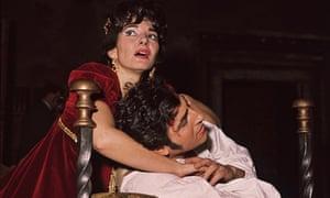 Maria Callas with Renato Cioni in Franco Zeffirelli's 1964 production of Tosca at Covent Garden, London.