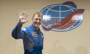 Tim Peake. The Soyuz TMA-19M is scheduled to launch today.