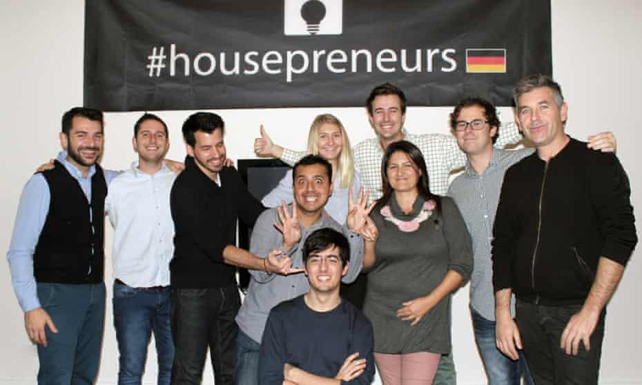 group of housepreneurs housemates