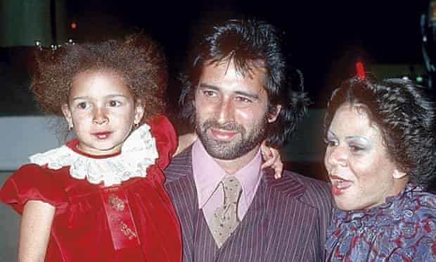 Photograph of Maya Rudolph and her parents