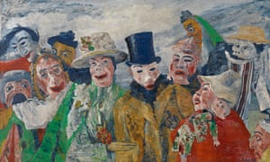 The Intrigue, by James Ensor