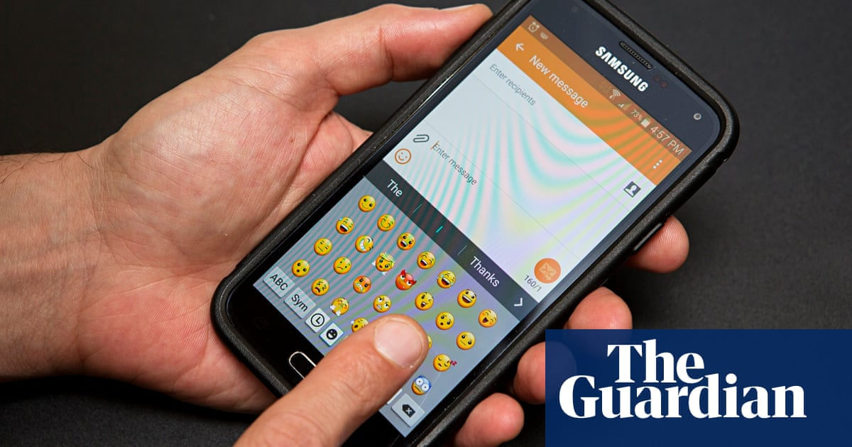 picture this being charged extra to send emoji texts money the guardian