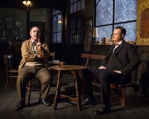 Andy Nyman and David Morrissey in Hangmen