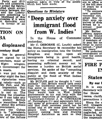 The Guardian, 6 July 1960