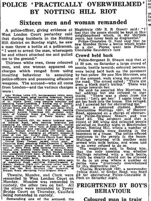 曼彻斯特卫报,1958年9月2日
