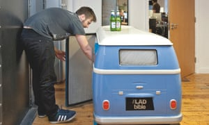 Lad Bible VW fridge