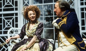 Geraldine McEwan and Michael Holden in The Rivals.