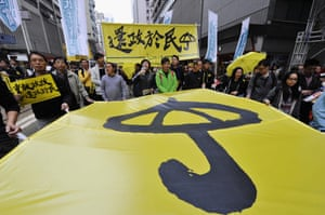 Protesters are calling for autonomy in Hong Kong's chief executive elections; China continues to hold control over who can run for the position.