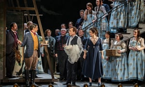 The Marriage of Figaro by Opera North at theGrand Theatre, Leeds 2015