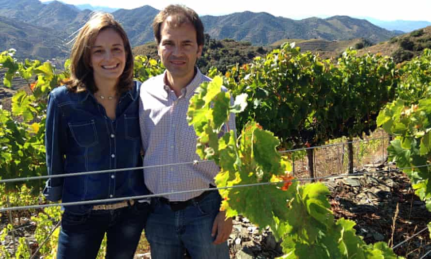 Couple vineyard