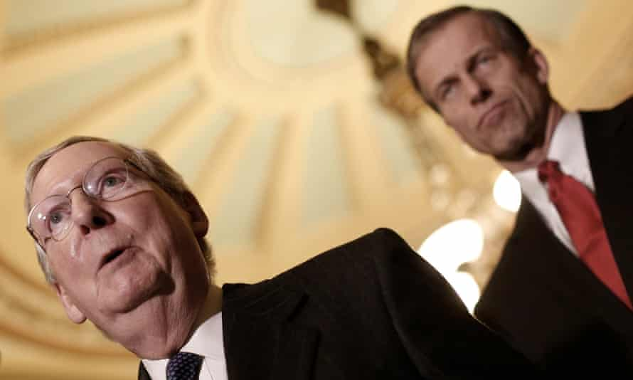 Senator John Thune, Mitch McConnell
