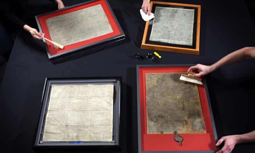 Four copies Magna Carta