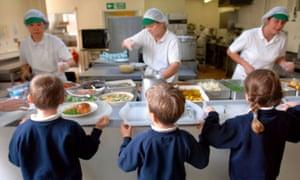 Children school lunch