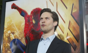Tobey Maguire, who starred in last decade's Spider-Man movies.