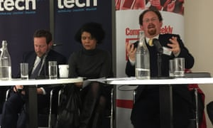 Ed Vaizey, Chi Onwurah and Julian Huppert at the Big Digital Debate.