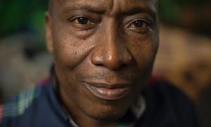 Mobutu's translator Elias Mulungula.