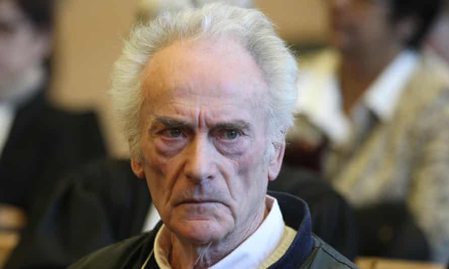 Pierre Le Guennec at Grasse criminal court on Tuesday.