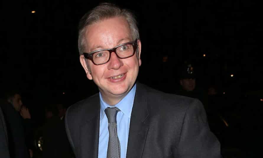 Michael Gove attends the White and Black ball