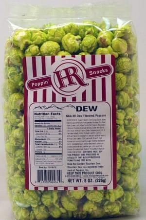 Dew-flavoured popcorn.