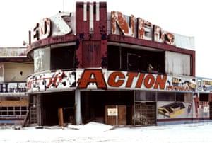 Former Firestone Tire Dealership, Grand River Blvd. at Chicago Ave., Detroit, 1997