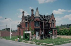 Ransom Gillis Mansion, Alfred at John R, August 1993.