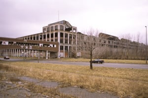Former Packard Plant, E. Grand Blvd. at Concord, Detroit, 2012