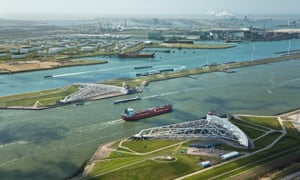 Rotterdam, in the Netherlands has the largest port in Europe.