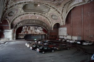 Former Michigan Theater, 220 Bagley Ave., Detroit, 1995