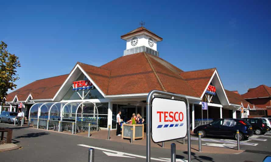 A Tesco Superstore in Hounslow, London