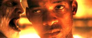 Straightforward heroism … Will Smith in I Am Legend.
