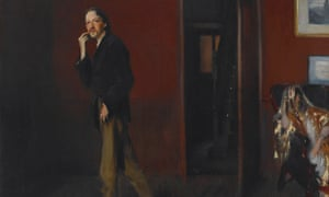 Robert Louis Stevenson and His Wife, by John Singer Sargent, 1885.