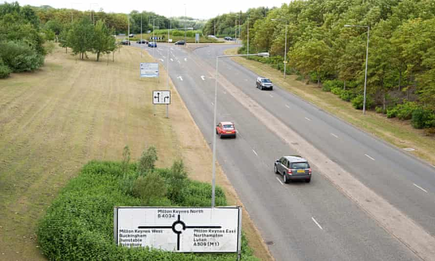 There, or roundabouts … the gateway to Milton Keynes.